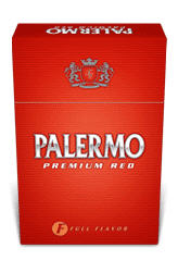 Cigarrillos Palermo Premium Red Full Flavor
