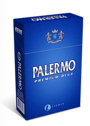 Cigarrillos Palermo Premium Blue Light