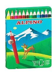Comprar Caja metal 12 lápices de colores