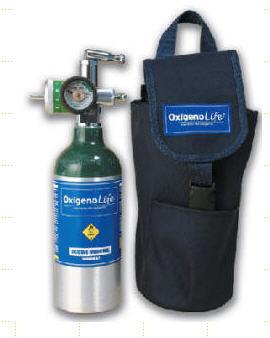 Comprar Equipo de Oxigeno portátil de 113 litros con regulador