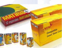Embalaje para productos no comestibles