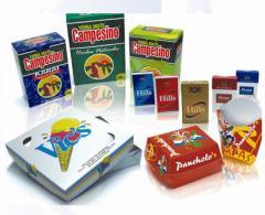 Embalaje para productos comestibles