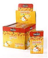"Grageas con sabor naranja ""La"