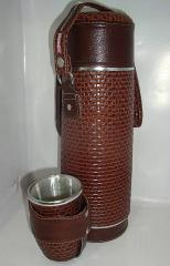 Kit de Mate clasico marron