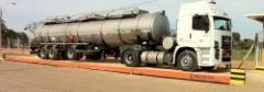Bascula pesa camiones