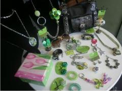 Coleccion en colores verdes