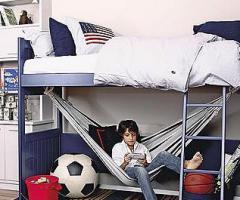 Dormitorio con aire masculino