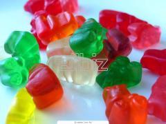 Bombones de gelatina