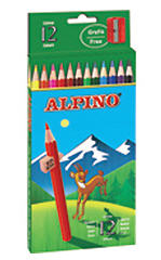Cajas 12 lápices colores largos