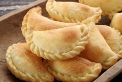 Empanadas de filetes de pangasius