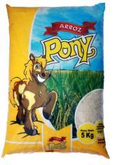 Arroz Pony.