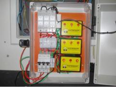 Instalacion electricidad estática