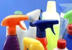 Productos de limpieza diferentes tipos