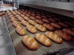 Utillaje para cocimiento de pan