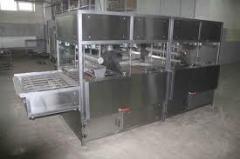 Maquinaria para cocer el pan
