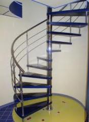 Escaleras modulares ajustables