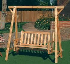 Muebles de madera de jardín