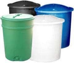 Depósitos de plástico