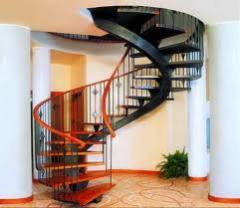 Escaleras preparadas