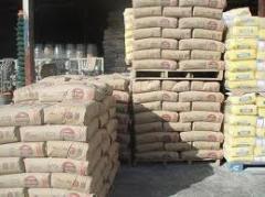 Materiales de cemento varios tipos