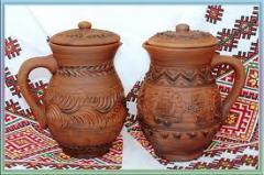 Articulos de cerámica roja