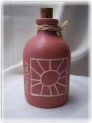 Botellas de cerámica