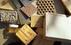 Materiales para construcción de edificios