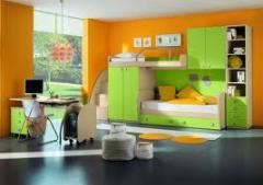 Muebles para cuatros infantiles
