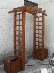Arcos de jardin de madera