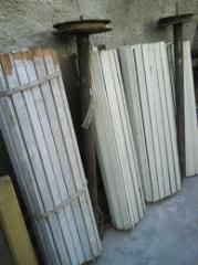 Articulos de madera para construccion