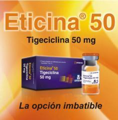 """Linea de los medicamentos """"Eticina"""