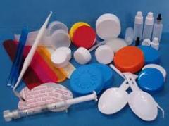 Articulos de plástico varios