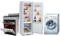 Electrodomésticos diferentes