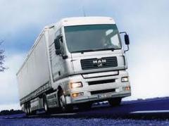 Transporte de carga varios tipos