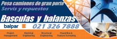 Balanza y bascula pesa camion paraguay