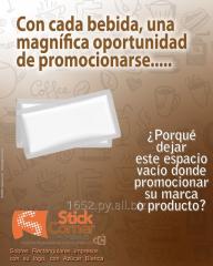 Promocione su empresa: Sobres de Azúcar personalizados con su Marca o Logo