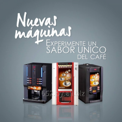 Nuevos modelos en máquinas expendedoras de café y