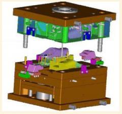 Producción de instalación para moldeado plástico