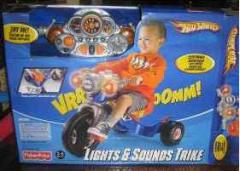 Triciclo Fisher Price Hot Wheel