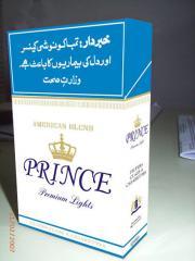 "Cigarrillos ""Prince"""