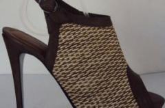 Calzado femenino de cuero