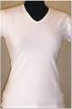 T-shirt dama escote V