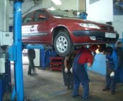 Servicio de remonta de automoviles