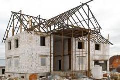 Preparación de construcción de casa