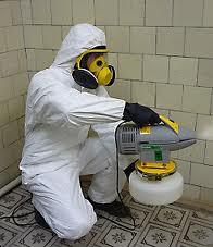 Realización de desinfección
