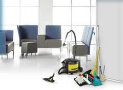 Limpieza general de oficina