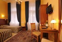 Habitaciones en el hotel: cuartos para tres