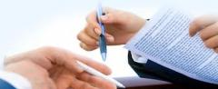 Servicios de notario diferentes